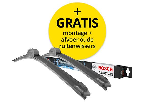 Bosch voorruit ruitenwissers (per set)